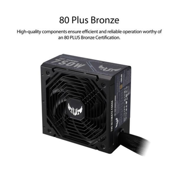 مزود طاقه  ASUS TUF Gaming 750W 80 PLUS Bronze Semi Modular