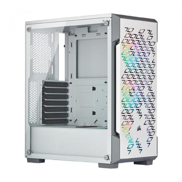Corsair Gaming Case iCUE 220T RGB Airflow Mid-Tower - White