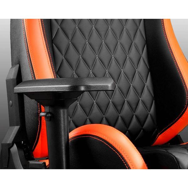 كرسي الألعاب كوغار أرمور إس أسود / برتقالي