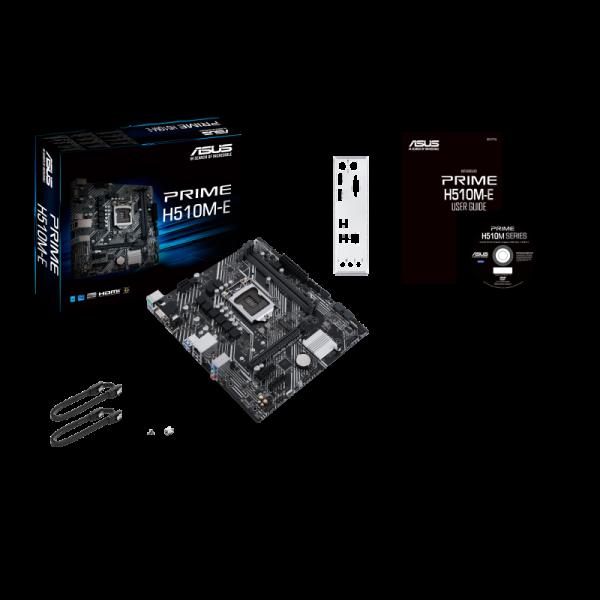 Asus Motherboard Prime H510M-E  LGA 1200 micro ATX , Intel chipset