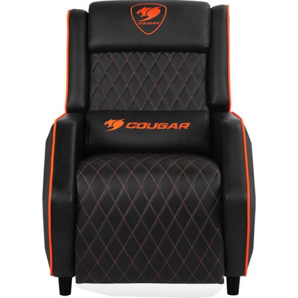 COUGAR Ranger Gaming Sofa Recliner (Orange / Black)
