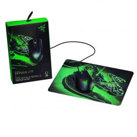 Razer Abyssus Lite Gaming Mouse + Goliathus Gaming Mouse Pad
