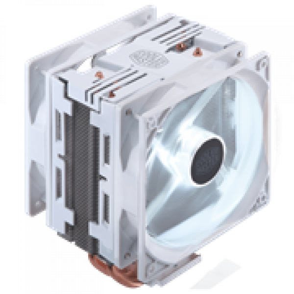 CPU Cooler - Cooler Master Hyper 212 LED Turbo White Edition
