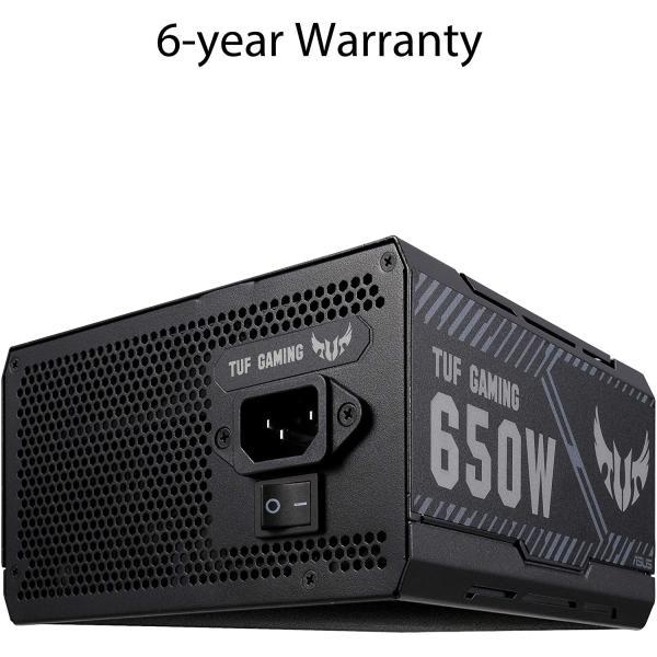 ASUS Power Supply TUF 650 Watt Bronze Gaming PSU for PC,  90YE00D1-B0NA00