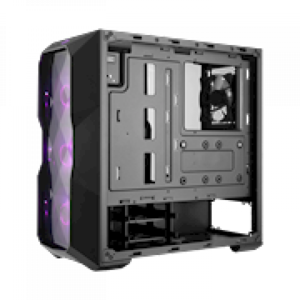 Cooler Master MasterBox TD500 Mesh Airflow ATX Mid-Tower w/ E-ATX support, Polygonal Mesh Front Panel, Crystalline Tempered Glass & 3 ARGB Fans w/ Controller