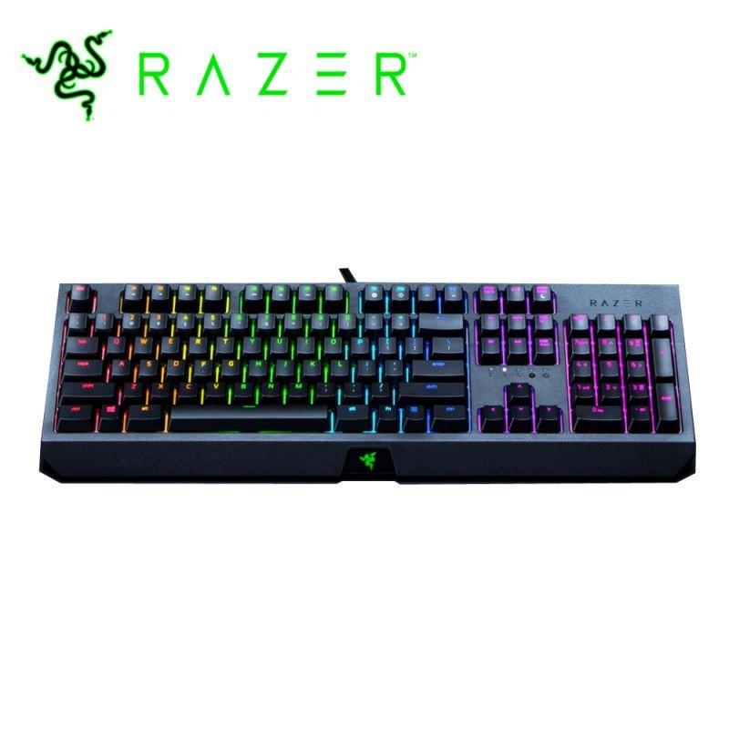 لوحة مفاتيح الألعاب Razer BLACKWIDOW Mechanical Green Switch RGB