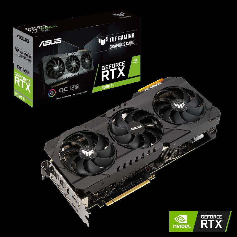 ASUS VGA TUF Gaming GeForce RTX™ 3080 Ti OC Edition 12GB GDDR6X
