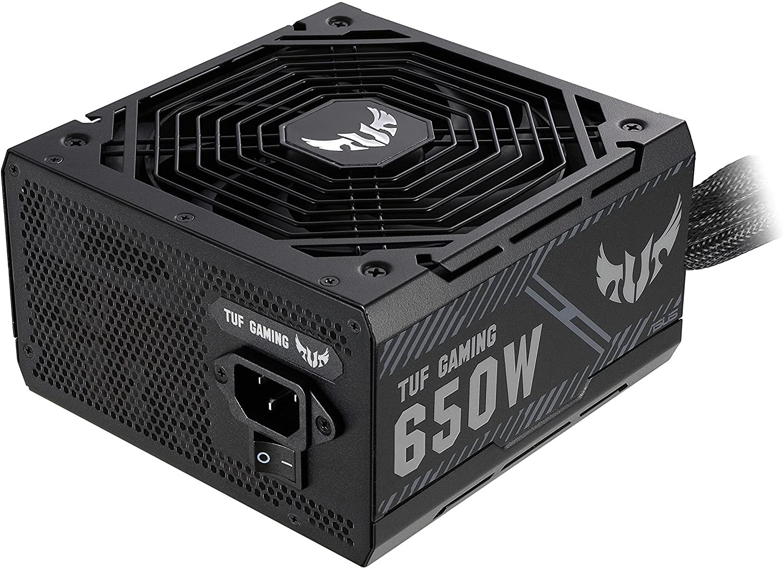 ASUS TUF Bronze Gaming PSU for PC, 650W, 90YE00D1-B0NA00