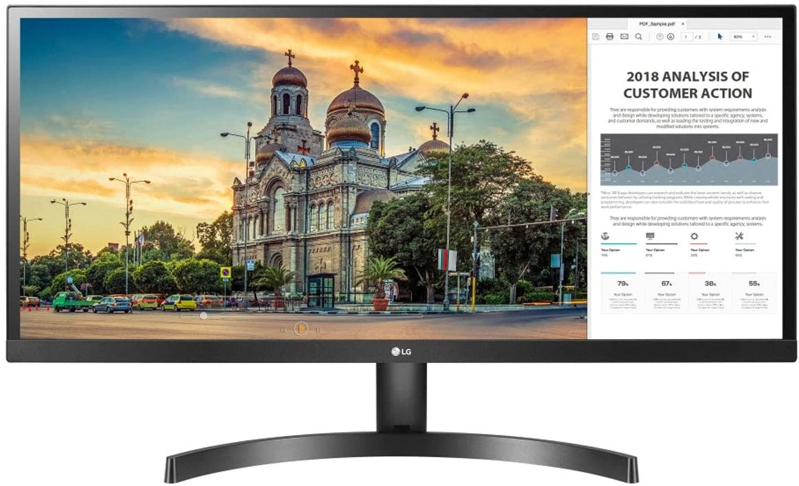 Monitor LG 29`` LED  29WL500-B  Ultra Wide IPS HDR 75HZ Black