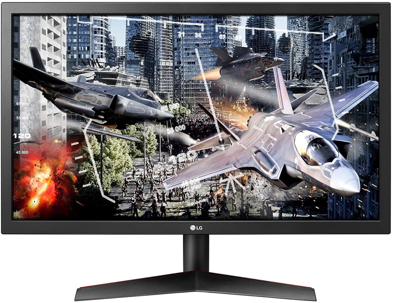 Gaming Monitor LG 24 LED 24GL600F-B  1MS, 144hZ, TN, FreeSync, Black